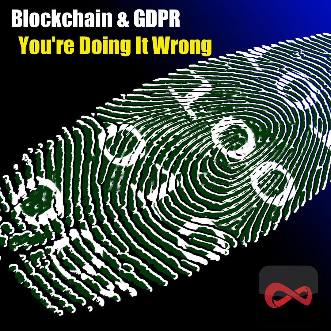 Blockchain and GDPR